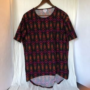 LuLaRoe XXS Buttery Soft Tunic T-shirt